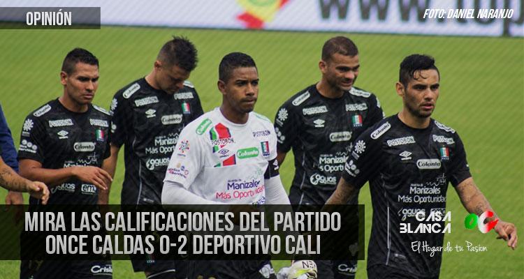 Calificaciones-Once-Caldas-0-2-Deportivo-Cali