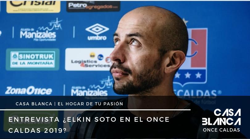 Elkin Soto Once Caldas 2019 casa blanca