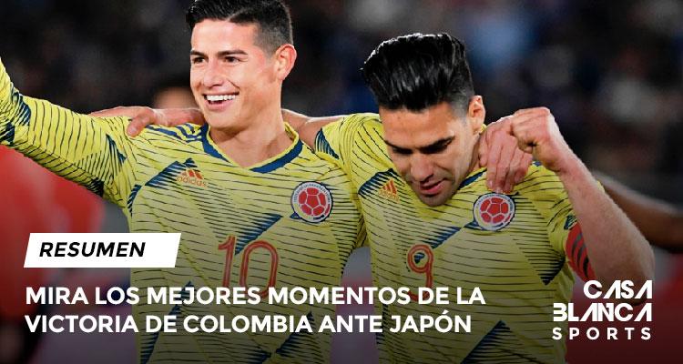 VICTORIA-DE-COLMBIA-NATE-JAPON-DEBUT-DE-QUEIROZ-GOL-DE-FALCAO-VIDEO-RESUMEN